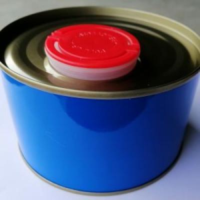 Lon 500 ml nắp nhựa đỏ