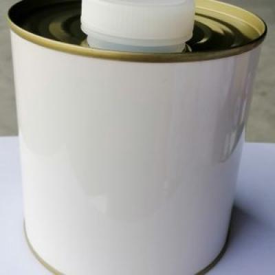 Lon 1 lít nắp nhựa trắng