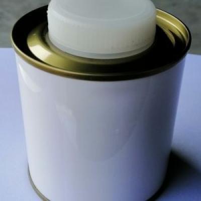 Lon 250 ml nắp nhựa trắng